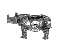Goodbye Rhino Fine-Art Print