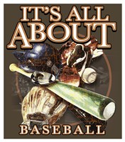 All About Baseball Fine-Art Print