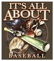 All About Baseball Fine-Art Print