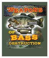 Bass Destruction Fine-Art Print