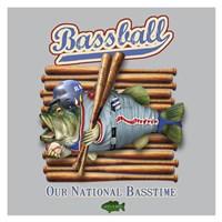 Bassball Fine-Art Print