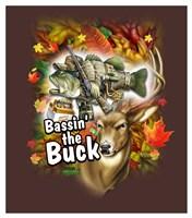 Bassin' the Buck Fine-Art Print