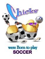 Born Soccer Fine-Art Print