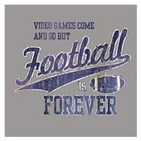 Footbal Forever Fine-Art Print
