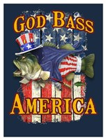 God Bass America Fine-Art Print