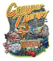 Grouper Therapy Fine-Art Print