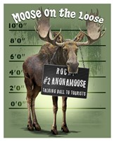 Moose on the Loose Fine-Art Print