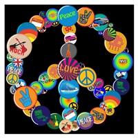 Pin Up Peace Fine-Art Print