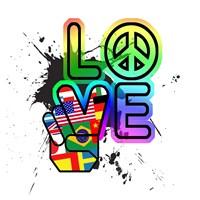 World Peace & Love Fine-Art Print