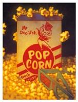 3D Popcorn Fine-Art Print