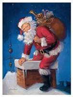 Here Comes Santa Fine-Art Print