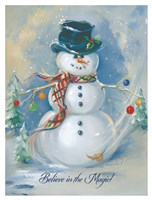Snowman Magic Fine-Art Print