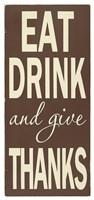 Eat Drink Fine-Art Print