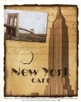 New York Cafe Fine-Art Print