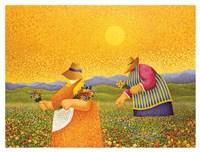 Picking Wildflowers Fine-Art Print