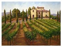 Hilltop Villa Fine-Art Print