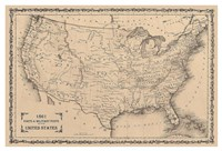 American Posts & Forts, 1861 Fine-Art Print