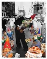 Garden Gnomes - VJ Day Fine-Art Print
