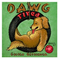 Dawg Tired Fine-Art Print