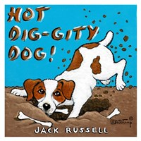 Hot Dig-Gity Dog! Fine-Art Print