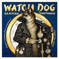 Watch Dog Fine-Art Print