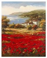 Poppy Harbor Fine-Art Print