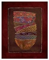 Asian Bowls II Fine-Art Print