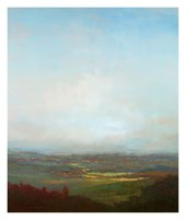 Green Valley Below Fine-Art Print