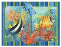 Tropical Fish Goup II Fine-Art Print