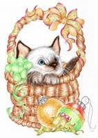 Siamese Christmas Fine-Art Print