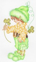 St Patricks Pixie Fine-Art Print