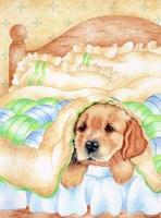 Poorly Pup Fine-Art Print