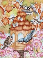 Birds and Butterflies Fine-Art Print