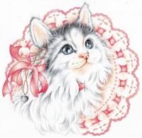 Lacey Kitten Fine-Art Print
