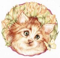 Tulip Kitten Fine-Art Print