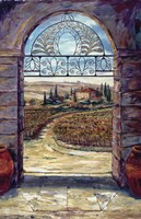 Stained Glass And Wine Fine-Art Print
