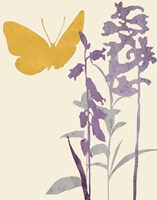 Butterfly and Flowers Fine-Art Print