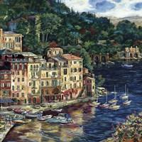 Daybreak of Portofino Fine-Art Print