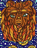Bailey the Bear Alive Fine-Art Print