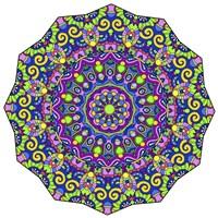 Beautifully Brilliant Mandala Fine-Art Print