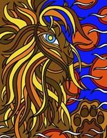 Lester the Lion Alive Fine-Art Print