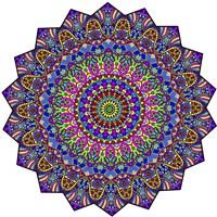 Mystical Mandala Fine-Art Print