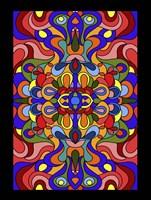 Waves Colored Fine-Art Print