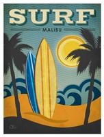 Surf Malibu Fine-Art Print