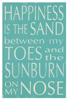Happiness Is the Sand... Fine-Art Print