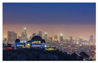 L.A. Skyline with Griffith Observatory Fine-Art Print
