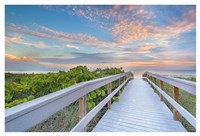 The Walk To Sunset Beach Fine-Art Print