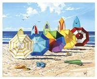 Brellas & Boards Fine-Art Print