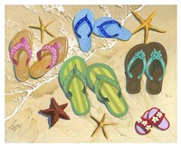 Flip Flop Family Fine-Art Print