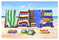 Sandals and Seats Fine-Art Print